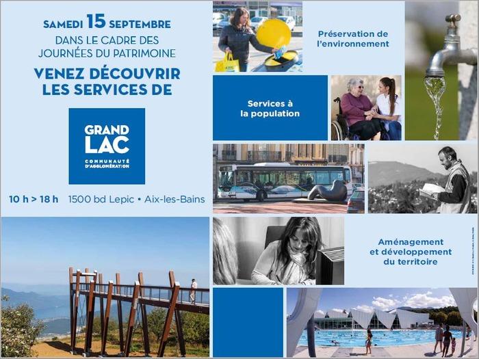 Journées du patrimoine 2018 - Journée Portes ouvertes Grand lac
