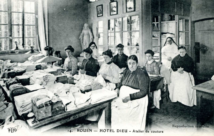 Journées du patrimoine 2018 - Visite guidée du musée Flaubert et d'histoire de la médecine sur le rôle majeur des femmes dans l'histoire de l'hôpital