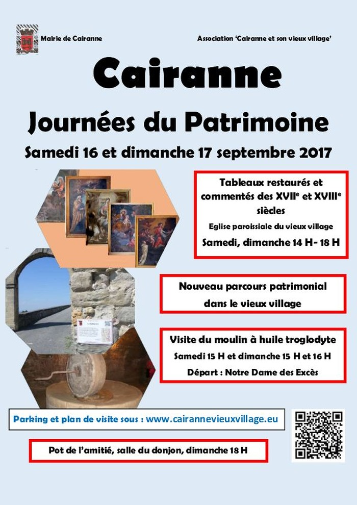 Journées du patrimoine 2017 - Journées du Patrimoine 2017