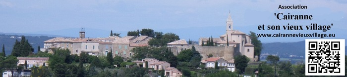 Journées du patrimoine 2018 - Journées du Patrimoine 2018 à Cairanne (Vaucluse)