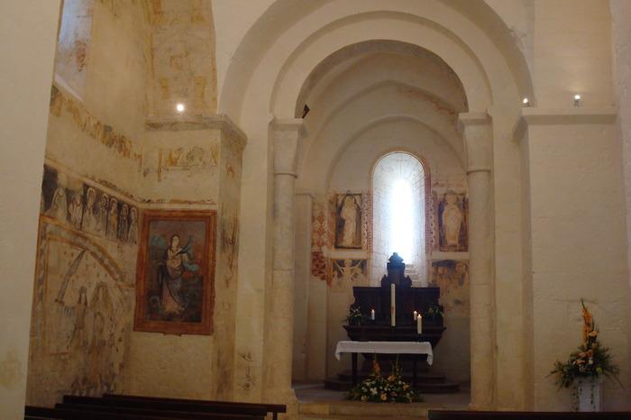 Journées du patrimoine 2018 - Visite libre de l'église Sainte-Marie de Bourg-des-Maisons