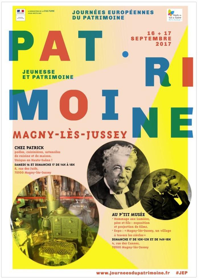 Journées du patrimoine 2017 - Journées du patrimoine à Magny-lès-Jussey