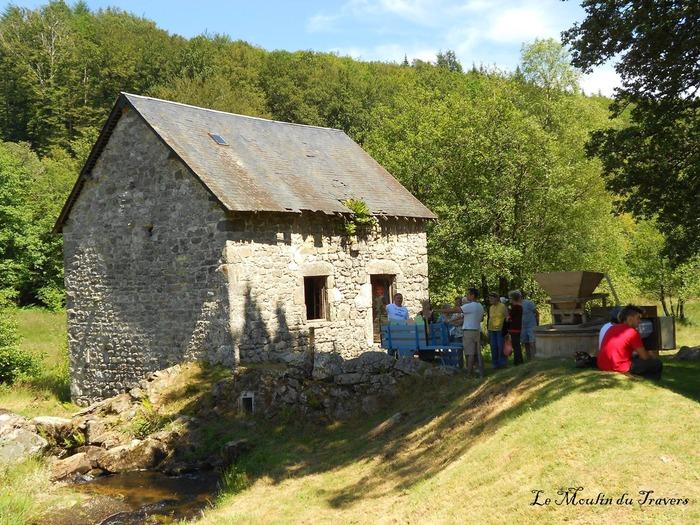 Journées du patrimoine 2018 - Visite libre du moulin du Travers à Gourdon-Murat