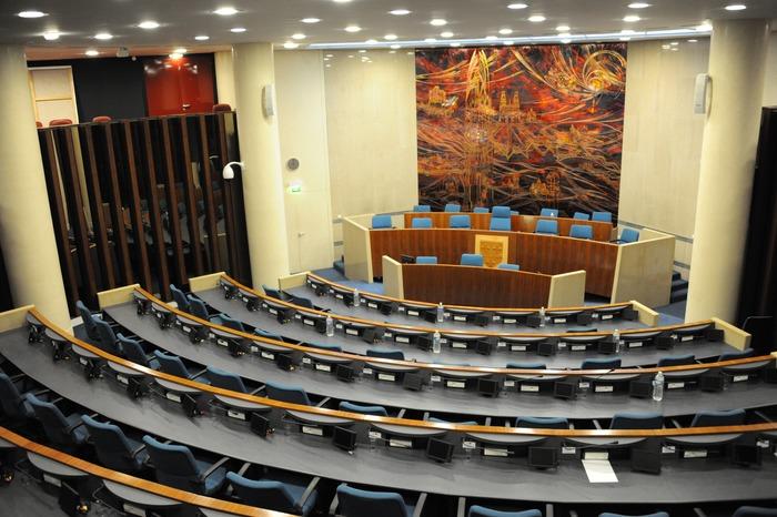 Journées du patrimoine 2018 - Visite commentée de la salle des délibérations et le bureau du Président du Conseil départemental