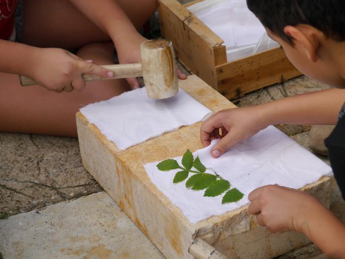 Journées du patrimoine 2018 - Atelier de découverte de la couleur végétale