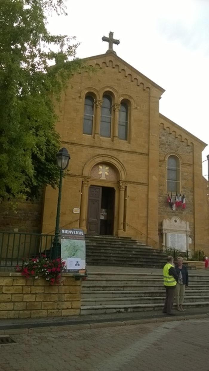 Journées du patrimoine 2018 - Visite commentée de l'église de Sarcey.