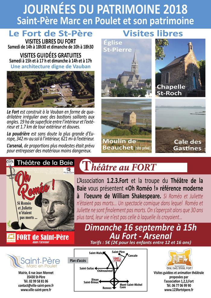 Journées du patrimoine 2018 - Saint-Père Marc en Poulet et son patrimoine
