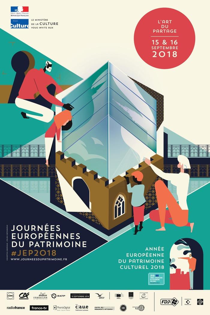 Journées du patrimoine 2018 - Cours de dessin