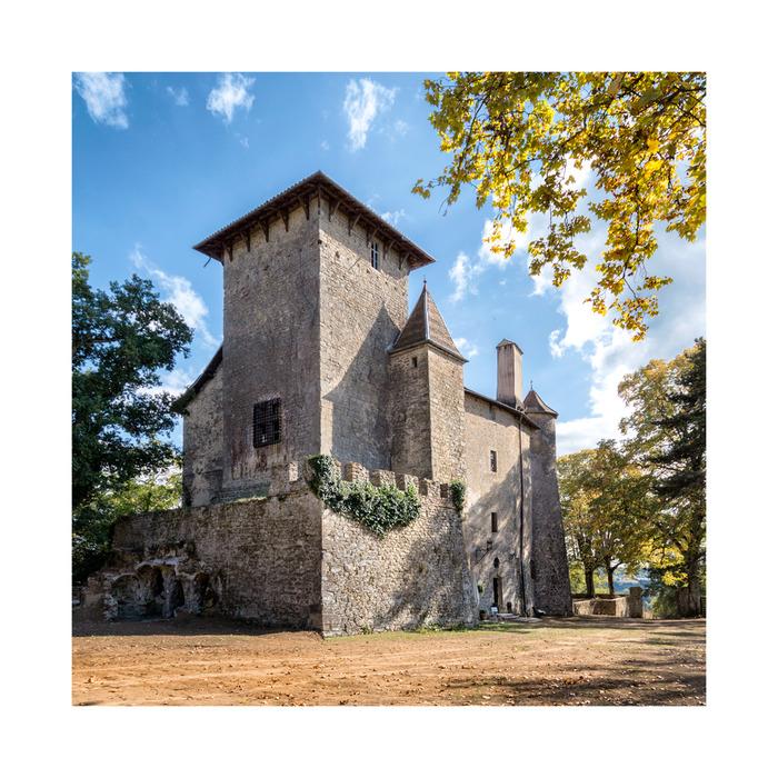 Journées du patrimoine 2018 - Visite commentée du château de Charmes-sur-l'Herbasse.