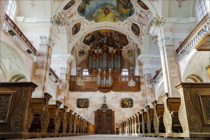 Journées du patrimoine 2018 - Découverte d'une abbatiale baroque et de son orgue Silbermann