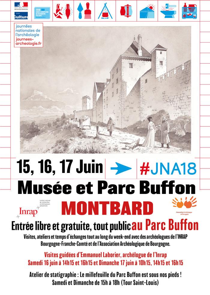 Journées Nationales de l'Archéologie au Musée et Parc Buffon de Montbard les 15…