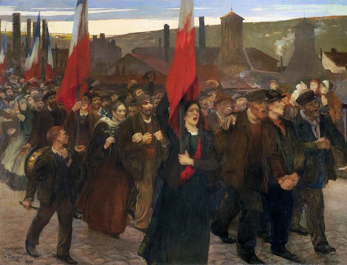 Jules Adler, Peindre sous la IIIe République