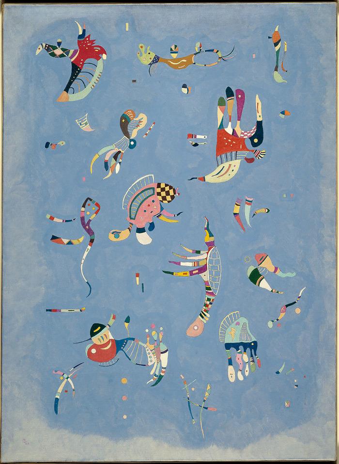 Kandinsky - Les années parisiennes (1933-1944)