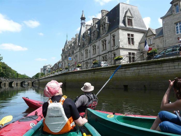 Journées du patrimoine 2018 - Kemper kayak...