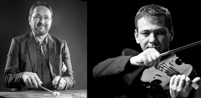 Journées du patrimoine 2017 - Duo violon et cymbalum : Marian Iacob Maciuca et Mihai Trestian