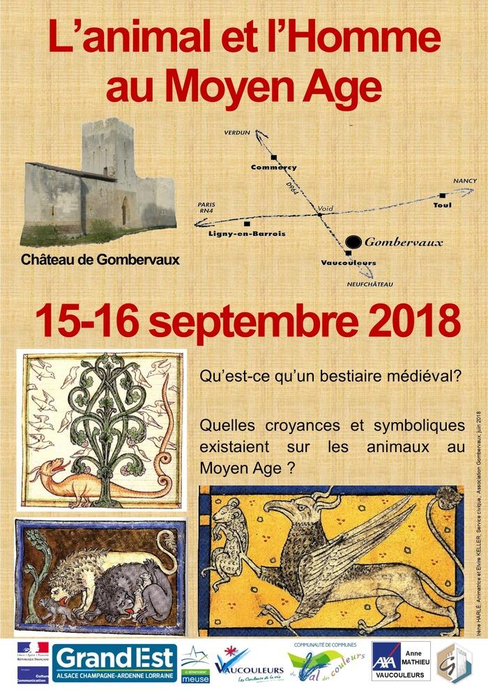 Journées du patrimoine 2018 - L'animal et l'Homme au Moyen Âge