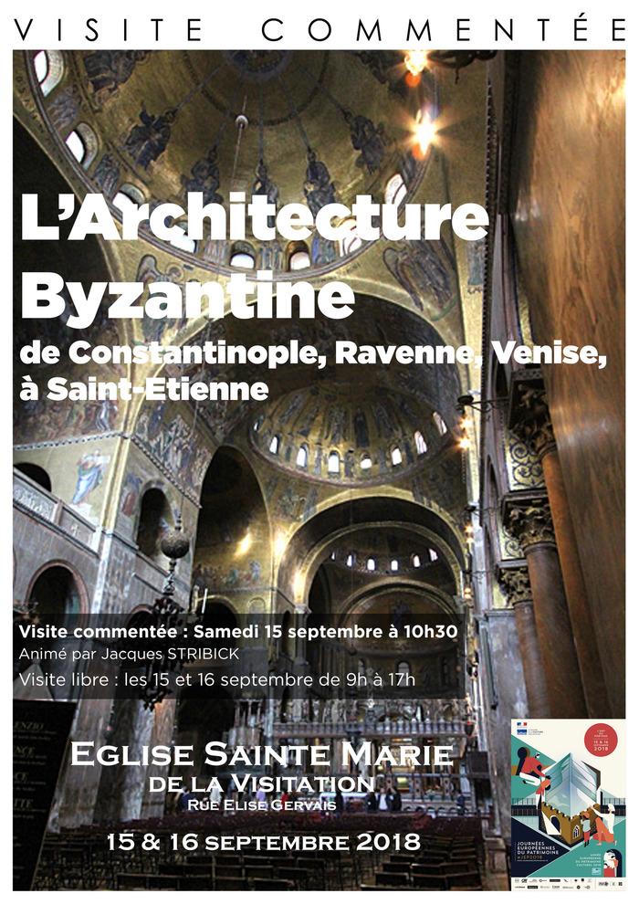 Journées du patrimoine 2018 - Visite libre « L'architecture Byzantine ».
