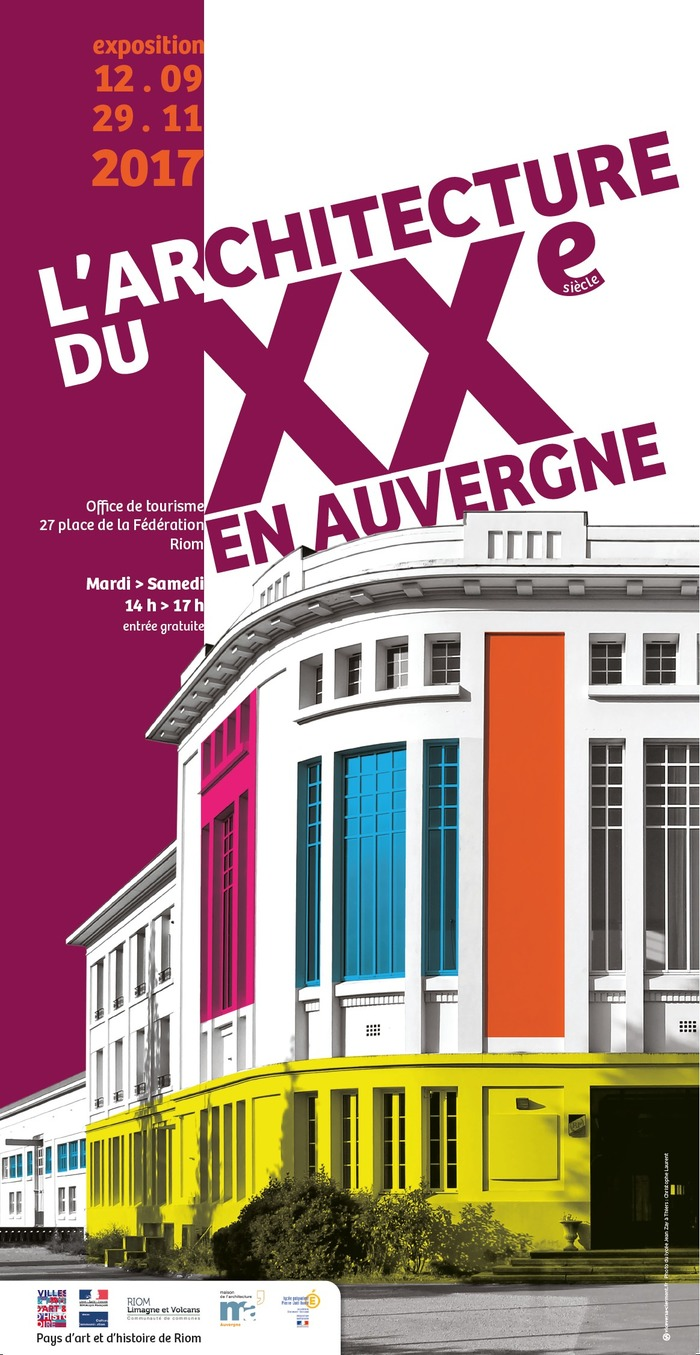Commentez l 39 architecture du xxe si cle en auvergne for Architecture 20eme siecle