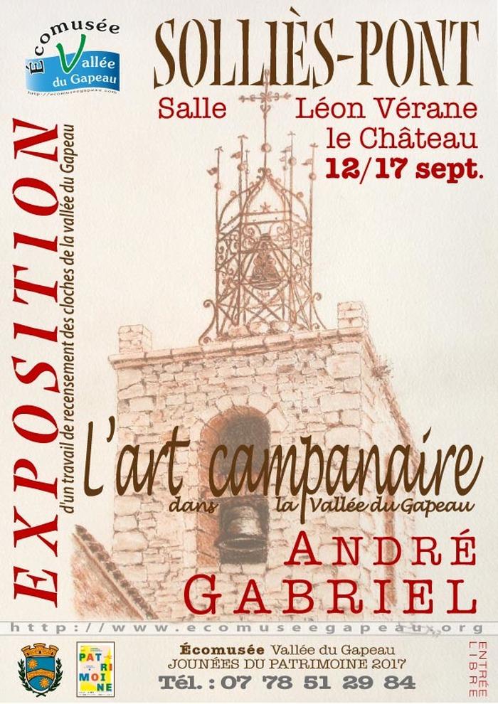 Journées du patrimoine 2017 - L'Art campanaire dans la vallée du Gapeau