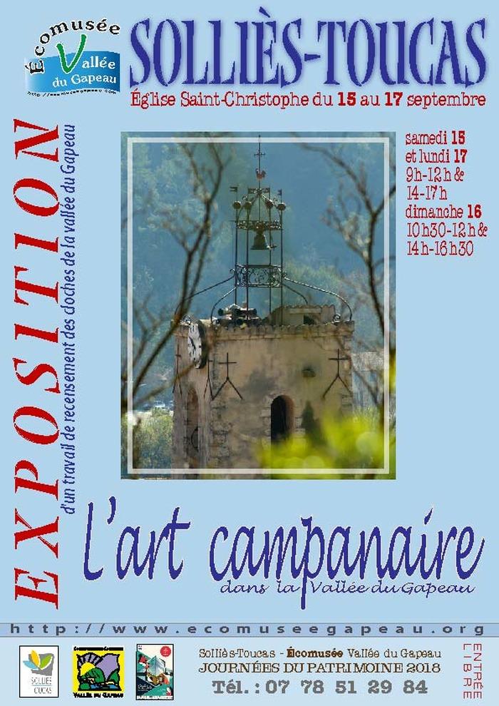 Journées du patrimoine 2018 - L'art campanaire dans la vallée du Gapeau
