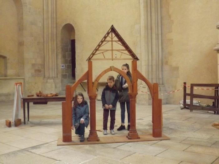 Journées du patrimoine 2018 - L'art des bâtisseurs : ateliers pour enfants et adultes