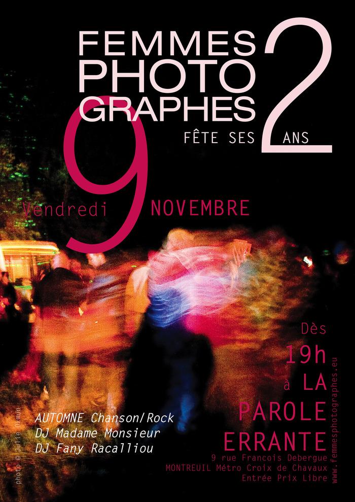 L'association femmesPHOTOgraphes fête ses 2ans