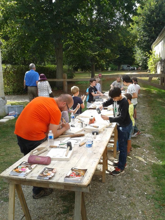 Journées du patrimoine 2018 - L'atelier du tailleur de pierre