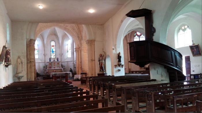 Journées du patrimoine 2019 - L'église Notre-Dame-en-sa-Nativité