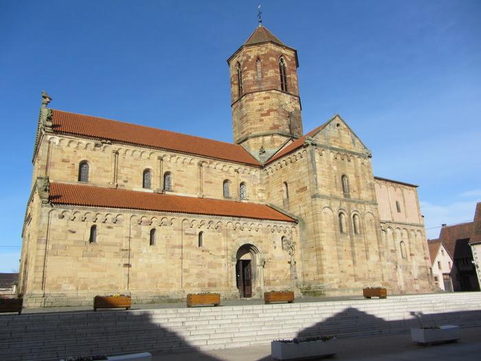 Journées du patrimoine 2018 - L'église romane Saints Pierre et Paul sous tous les angles