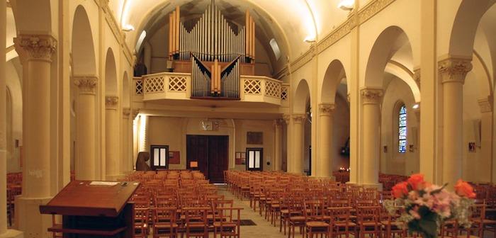Journées du patrimoine 2017 - Visite commentée de l'église ponctuée de récitals d'orgue.