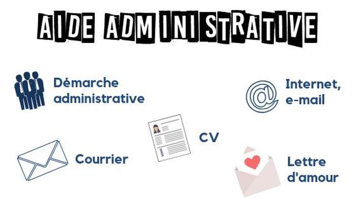 Entraide administrative, paperasse diverse et numérique