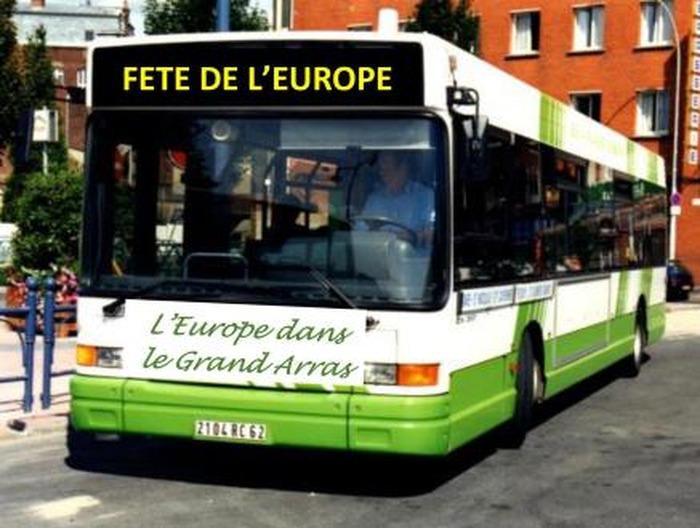 L'Europe dans le Grand Arras