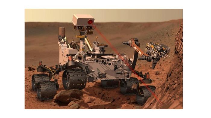 L'exploration du passé de la Planète Mars par le rover Curiosity et l'instrument SAM.