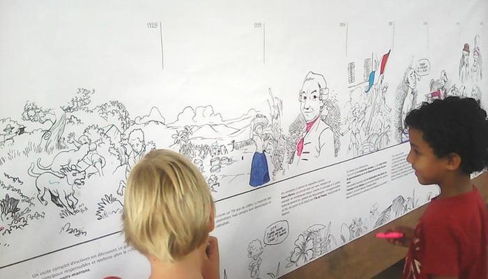 Journées du patrimoine 2018 - L'histoire de Saint-Pierre à colorier