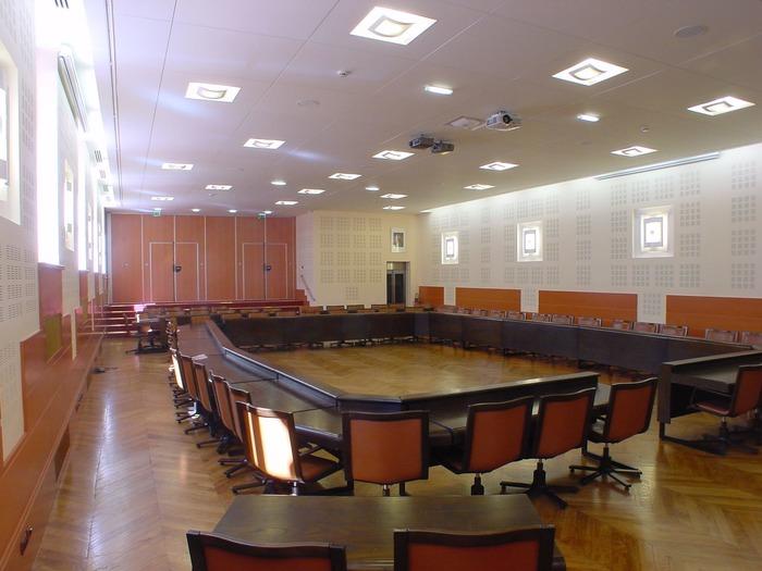 Journées du patrimoine 2018 - L'Hôtel de Ville : la salle du Conseil Municipal
