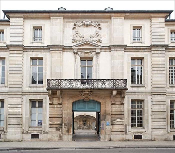 Journées du patrimoine 2018 - L'hôtel Ferraris à Nancy, une œuvre de Germain Boffrand ?