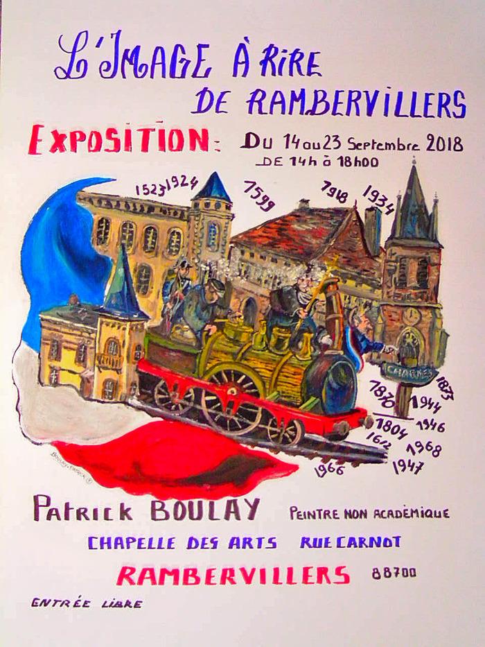 Journées du patrimoine 2018 - L'image à rire de Rambervillers, proposée par Patrick Boulay