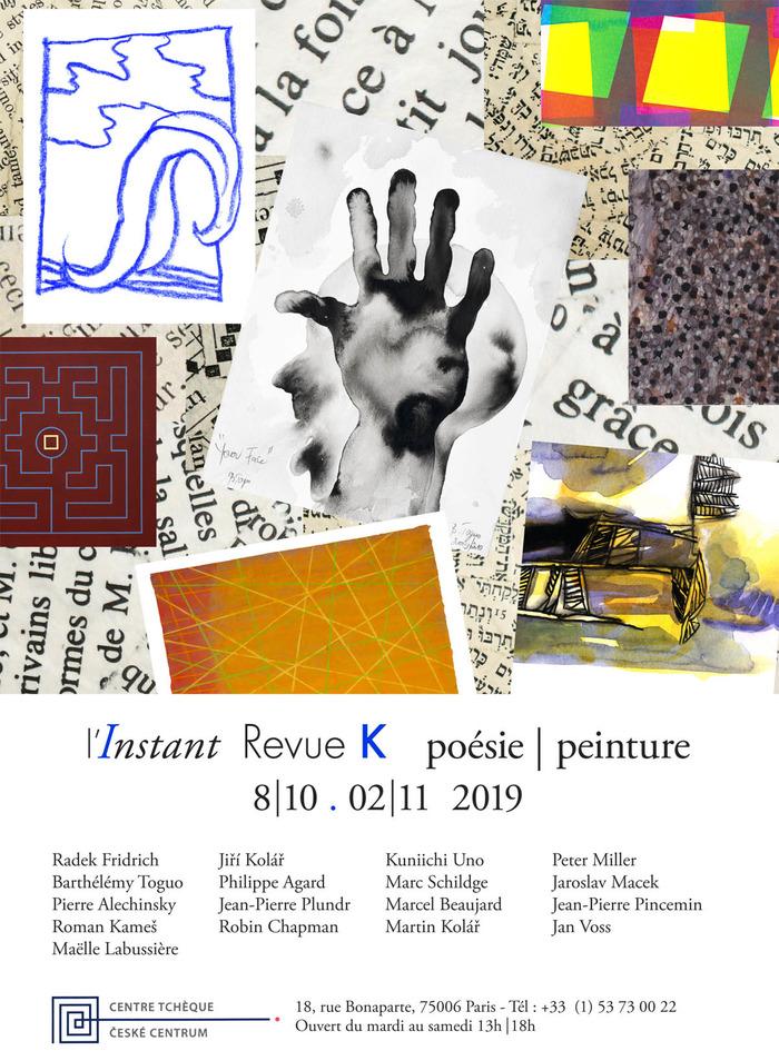La collection l'Instant réunit des poètes et des artistes français, tchèques, américains, allemands, camerounais…dans des éditions à tirage limité.