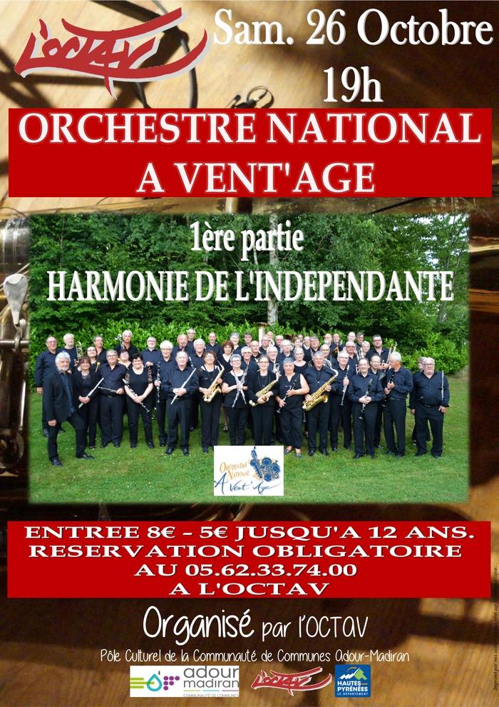 L'Orchestre National A Vent'Age à L'OCTAV !