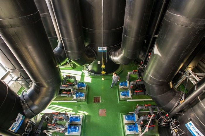 Journées du patrimoine 2018 - L'usine de dépollution des eaux usées de Chambéry