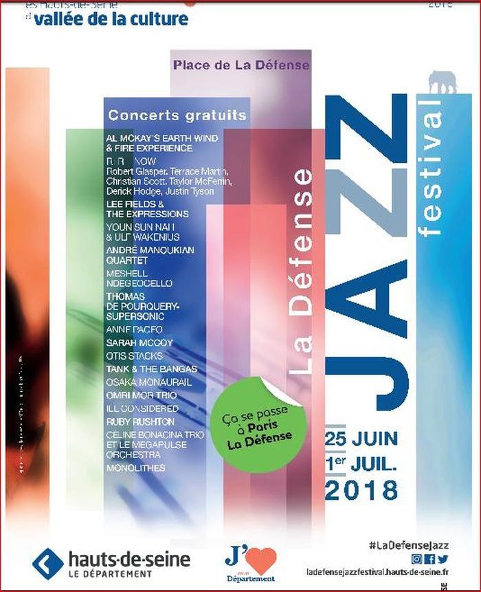La 41ème édition du Festival de Jazz de La Défense