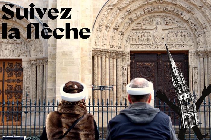 Journées du patrimoine 2018 - La Basilique de Saint-Denis vue du ciel !
