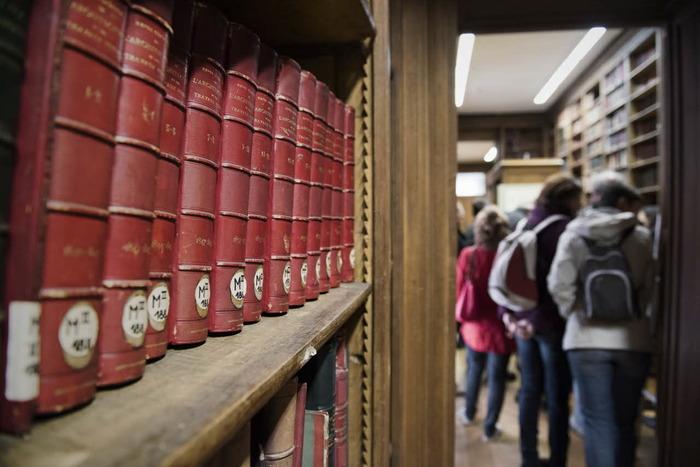 Journées du patrimoine 2018 - Visites guidées de la Bibliothèque historique et du salon Oppenord