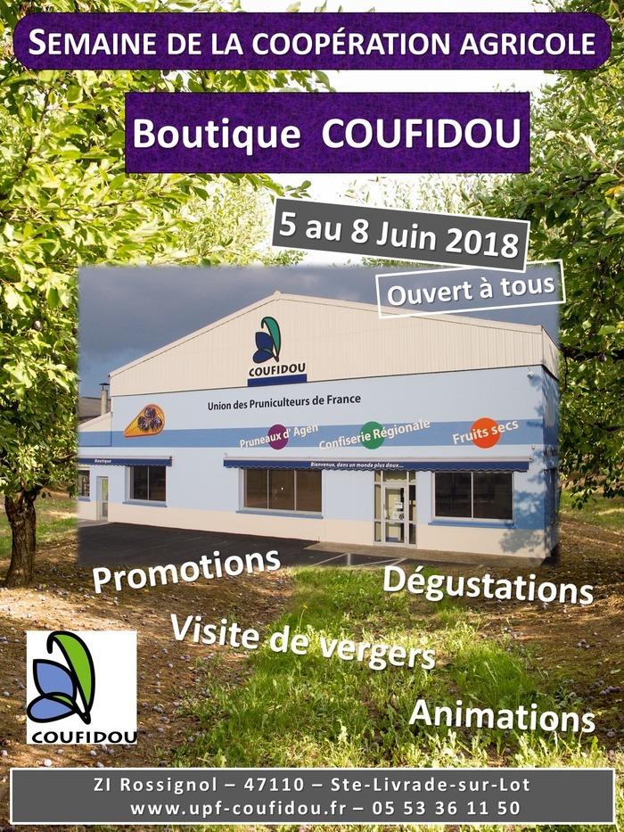 La boutique COUFIDOU fête la coopération agricole