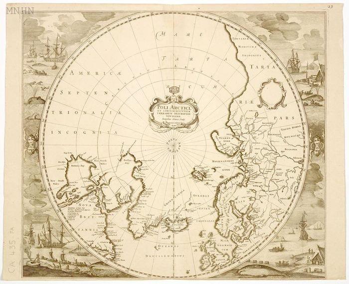 Journées du patrimoine 2018 - La cartographie des régions polaires : du mythe aux images satellite