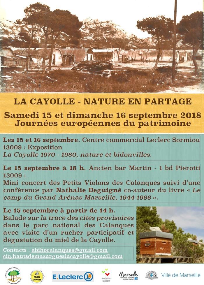 Journées du patrimoine 2018 - LA CAYOLLE NATURE EN PARTAGE