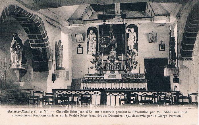Journées du patrimoine 2017 - La chapelle Saint-Jean d'Epileur (cl. MH 1990)