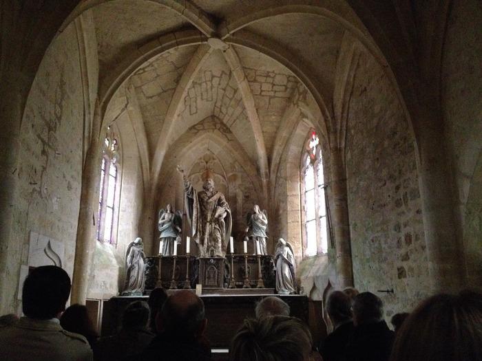 Journées du patrimoine 2019 - La chapelle Saint-Aubin