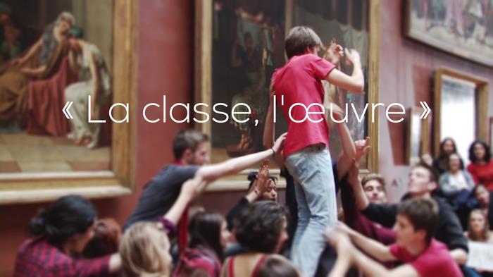 LA CLASSE, L'OEUVRE ! Henri le repenti : LA TAPISSERIE