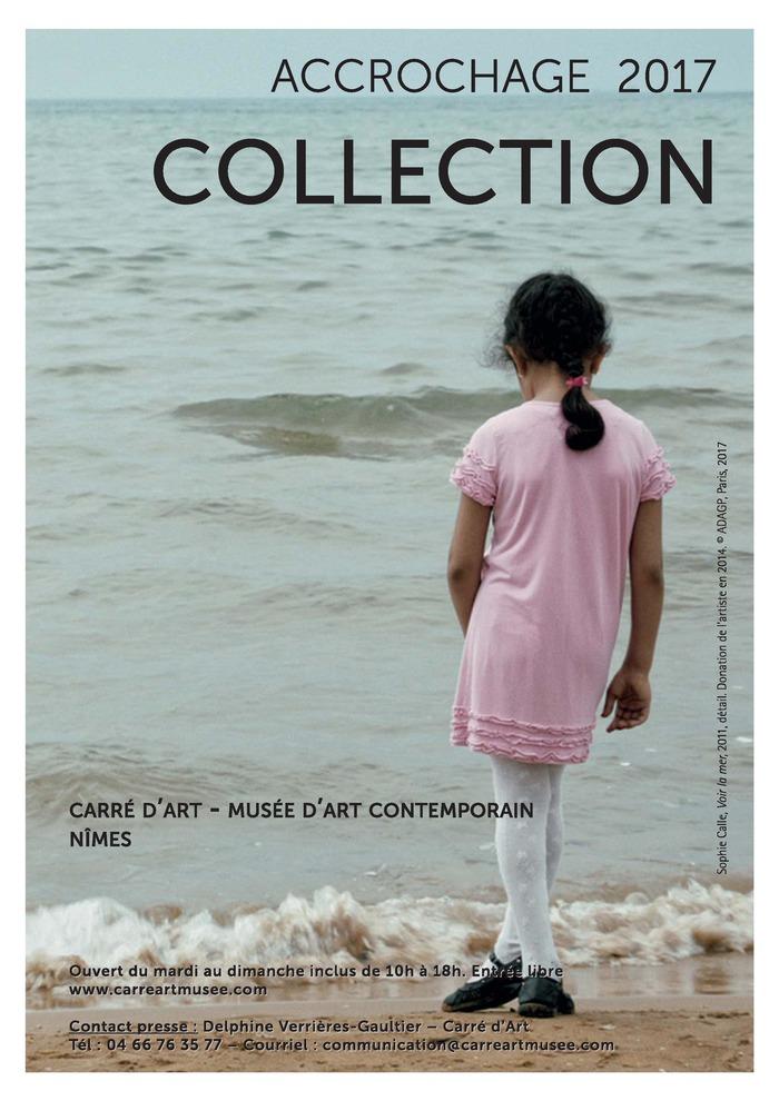 Crédits image : Sophie Calle, Voir la mer, 2011, détail. Donation de l'artiste au musée Carré d'Art en 2014. © ADAGP, Paris 2017